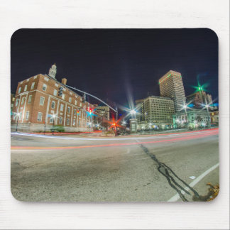 Skyline of Providence Rhode Island Mouse Pad