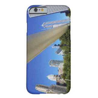 Skyline of Skyscrapers and footbridge at Barely There iPhone 6 Case