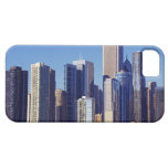 Skyline of Skyscrapers in downtown Chicago iPhone 5 Covers