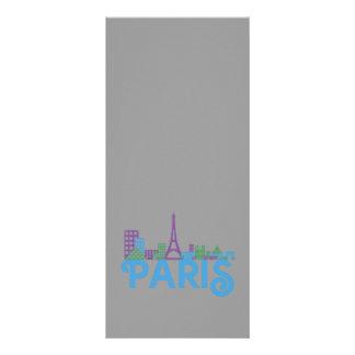 Skyline Paris Custom Rack Cards