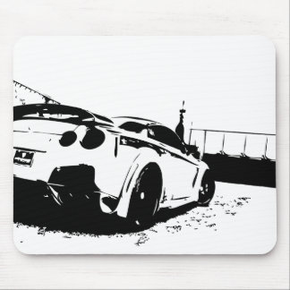 Skyline Rear View shot. Mouse Pad
