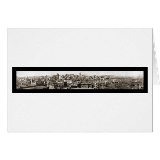 Skyline San Francisco Photo 1914 Card