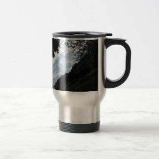 skyline  sky America Horizon NewJersy NVN687 GIFTS Travel Mug