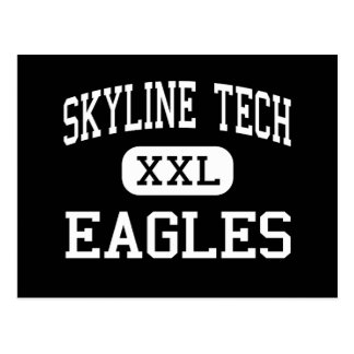 Skyline TECH - Eagles - High - Phoenix Arizona Postcard