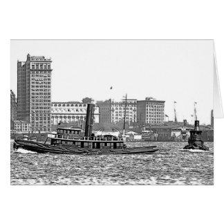Skyline & Tugs Card