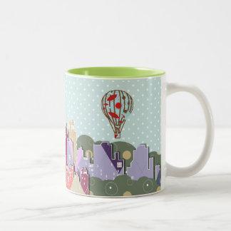Skyline Two-Tone Mug