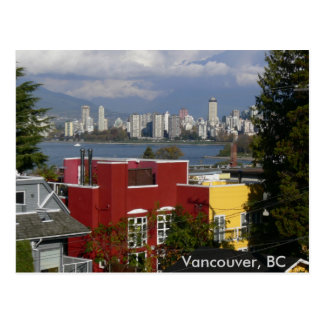Skyline, Vancouver, BC Post Card