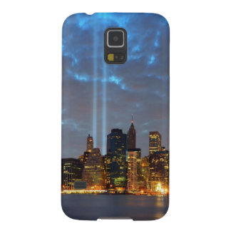 Skyline view of city in night. case for galaxy s5