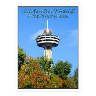 Skylon Tower, Niagara Falls, Ontario Postcard