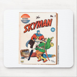 Skyman Golden Age cover by Ogden Whitney Mouse Pad