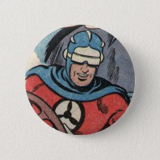 Skyman Pinback Button