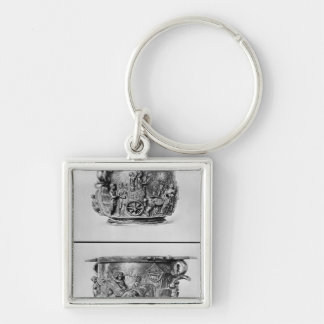 Skyphos depicting the consular procession keychain