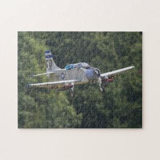 Skyraider A1-E Puzzle