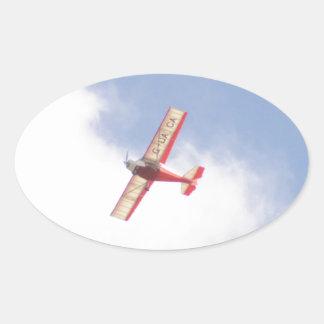 Skyranger 2004 pegatina oval