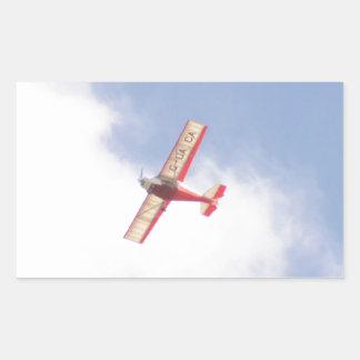 Skyranger 2004 rectangular pegatinas