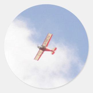 Skyranger 2004 etiqueta redonda