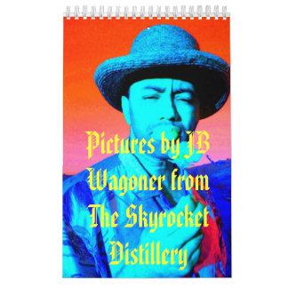 Skyrocket Distillery Calendar - Customized