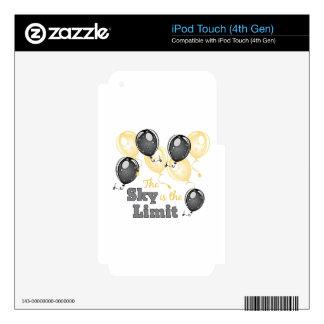 Skys el límite iPod touch 4G skins
