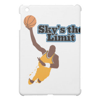 skys the limit basketball vector design case for the iPad mini