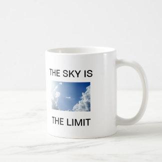 Sky's the Limit Classic White Coffee Mug