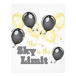 Skys The Limit Letterhead