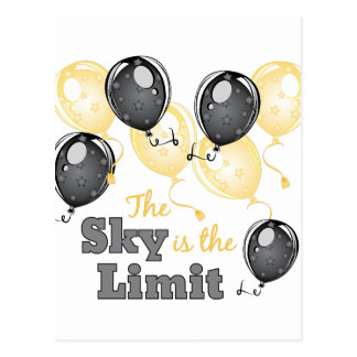 Skys The Limit Postcard