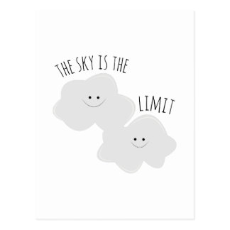 Skys The Limit Post Cards