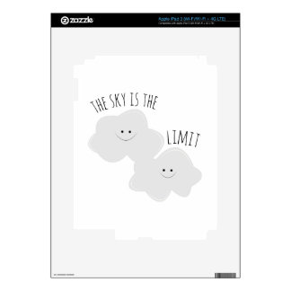 Skys The Limit Decals For iPad 3