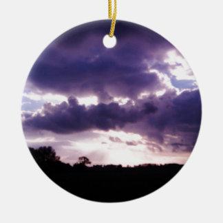 Skyscape Ornamento De Navidad