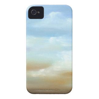 Skyscape hermoso con las nubes mullidas funda para iPhone 4 de Case-Mate