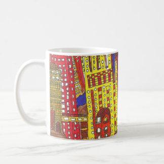 Skyscaper city coffee mug