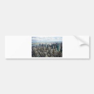 skyscapers bumper sticker