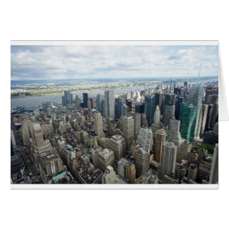 skyscapers greeting card