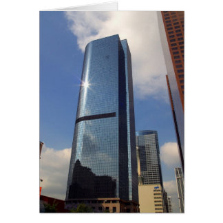 Skyscapers Downtown Card