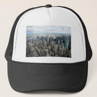 skyscapers trucker hat