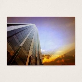 Skyscraper business card
