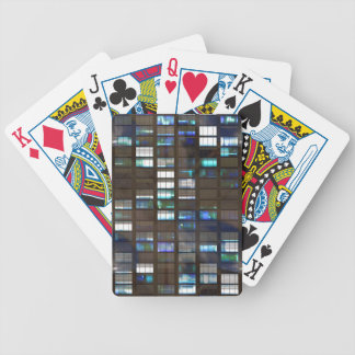 Skyscraper by Night - Bicycle Playing Cards