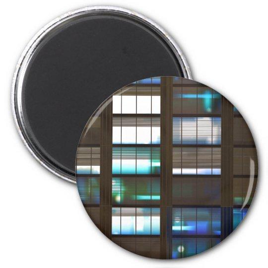 Skyscraper by Night - Magnet