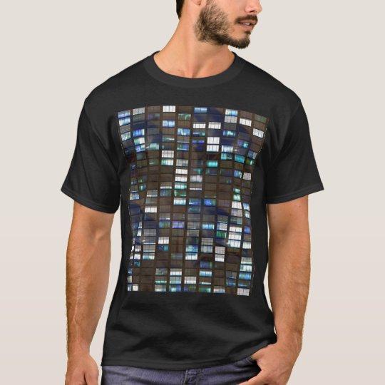 Skyscraper by Night - T-Shirt