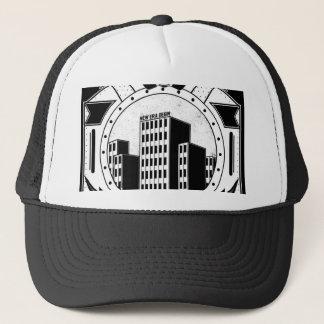 Skyscraper(FOR BLACK TEE) Trucker Hat