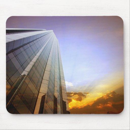Skyscraper mousepad