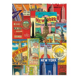 Skyscraper of New York Postcard
