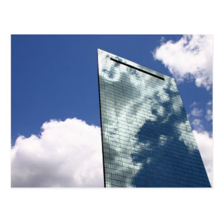 skyscraper postcard