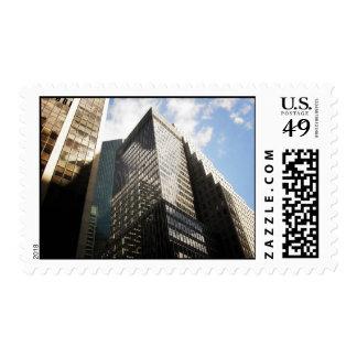 Skyscraper Reflections, New York City Postage Stamp