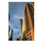 Skyscraper Reflections of New York Postcard