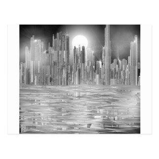 skyscraper scene.shpn.09 postcard