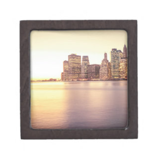 Skyscraper Skyline - New York City Sunset Premium Gift Boxes