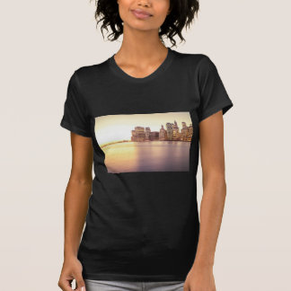Skyscraper Skyline - New York City Sunset T-shirt
