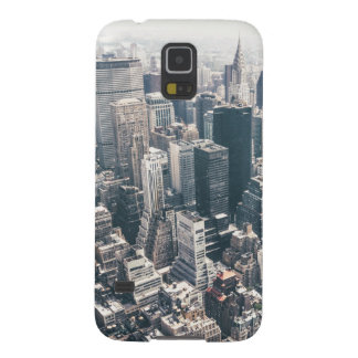 Skyscrapers and Rooftops of New York City Galaxy S5 Cases
