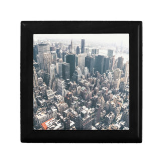 Skyscrapers and Rooftops of New York City Keepsake Boxes